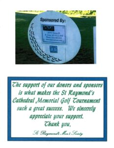 Supporting St. Raymond's Cathedral by taking part in the Memorial Golf Tournament is just one way that SSE attempts to give back.